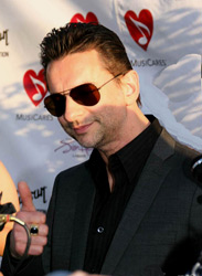 David Gahan at MusiCares 2007 in Los Angeles